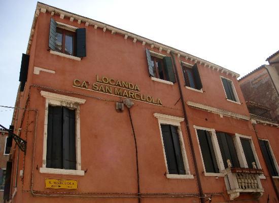 Locanda Ca' San Marcuola: Fachada