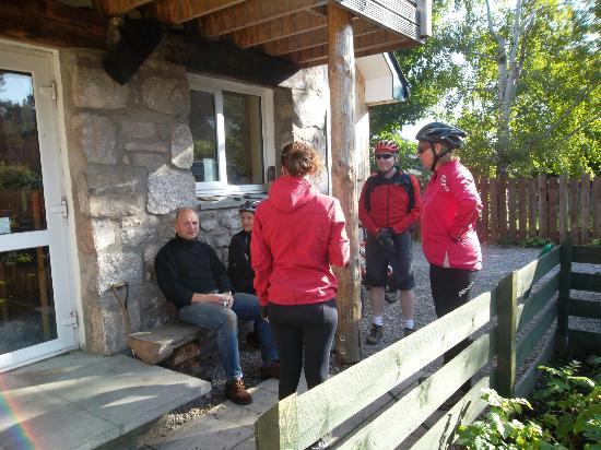 Fraoch Lodge: Entrance 