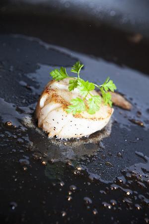 Cornelius Sjømatrestaurant: mat
