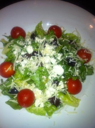 Andolini's Pizzeria: Greek salad (large) is a bit small for $8