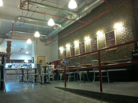 Pizzarium: clean and confotable