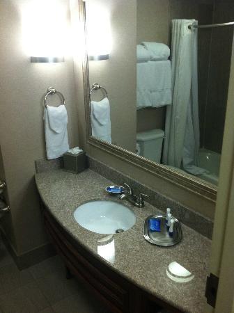 Fairfield Inn & Suites Somerset: bathroom vanity