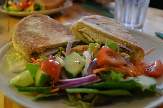 Darnley Coffee House: Ciabatta with Salad