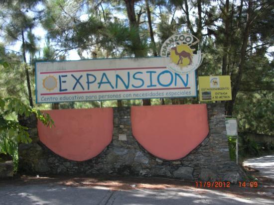 Expanzoo Expansion Centro Educativo Recreacional: entrada