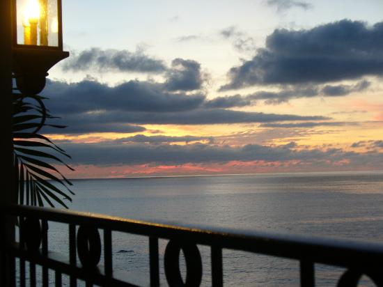 Garza Blanca Preserve, Resort & Spa: Sunset from Balcony