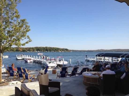 Pier 290 Restaurant Overlooking Lake Geneva