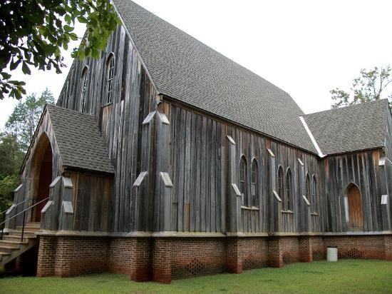 Old Cahawba Archaeological Park : St. Luke's Episcopal Church