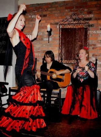 Embrujo Flamenco : flamenco dancing
