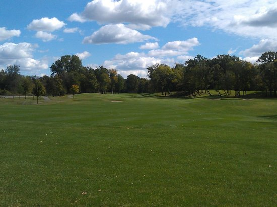 Jordan, MN: Par five on the back nine of The Ridges of Sand Creek