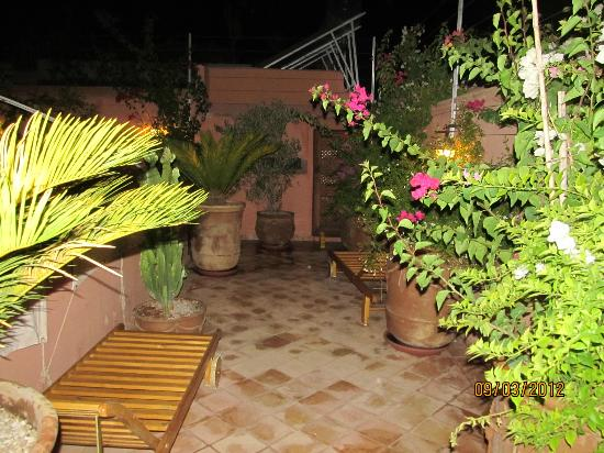 Riad Slawi: Roof Top Terrace