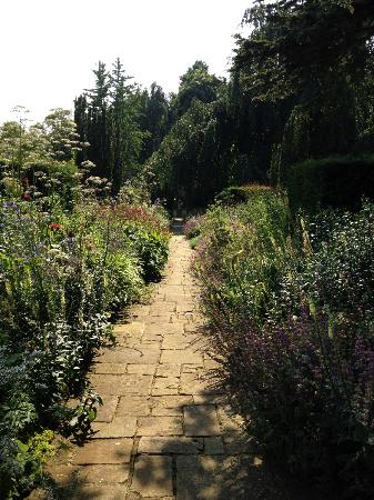 Cottesbrooke Hall and Gardens: garden path