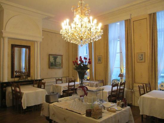 Hotel Patritius: Beautiful breakfast room