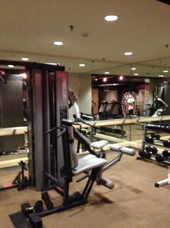 Madison Hotel: Fitness room