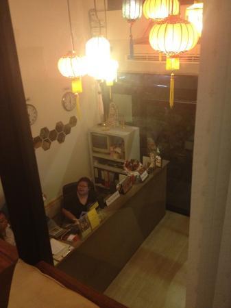 De Talak Hostel : Reception