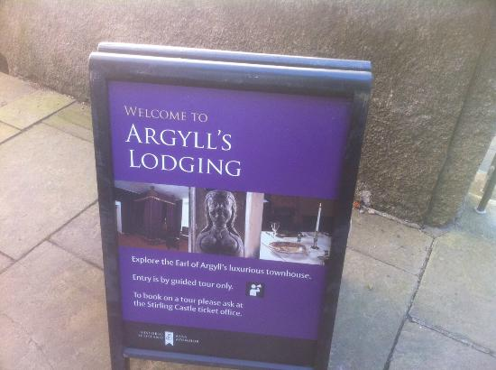 Argyll's Lodging, Stirling Scotland