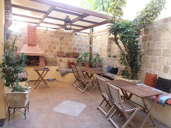 Spot Hotel: cortile interno