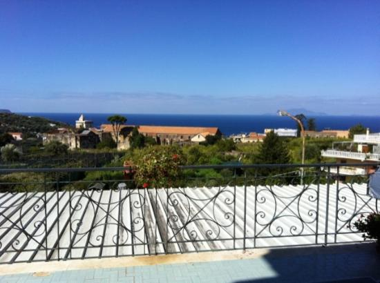 Hotel La Primavera: View from the balcony of our room