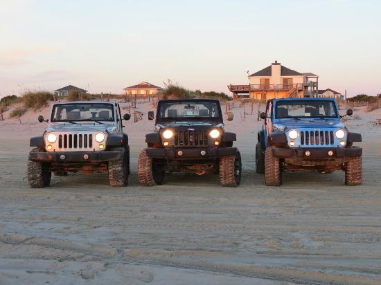Rick's Jeep Adventures: Our convoy