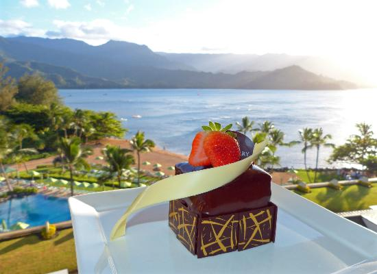 St. Regis Princeville Resort : Anniversary treat sent to our room