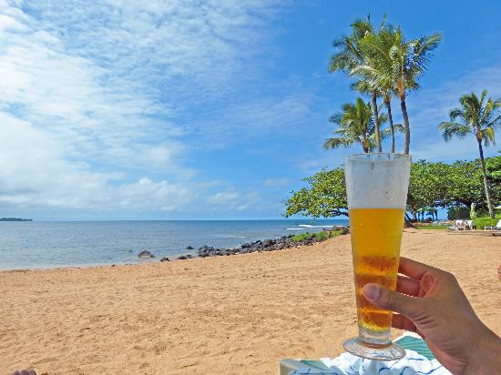 St. Regis Princeville Resort: From the beach chair