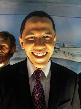 The Wax Museum: Obama figure