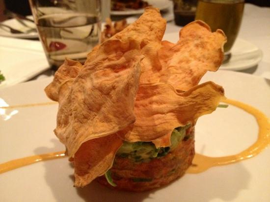 Blue Morel Restaurant and Wine Bar: tuna tar-tar