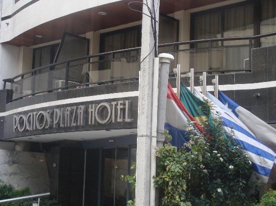 Pocitos Plaza Hotel: FRENTE