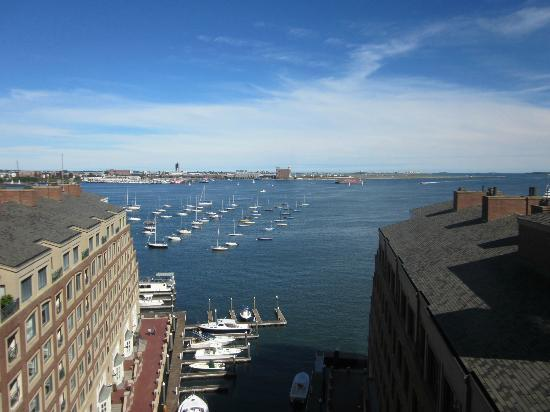 Boston Harbor Hotel: harbor view