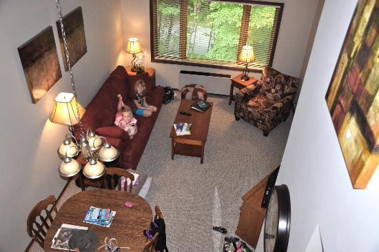 The Inn at Little Sister Hill: We loved room #306! It's a condo really!
