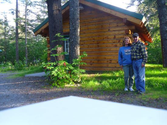"""Misty """"C"""" Cabins : great location."""