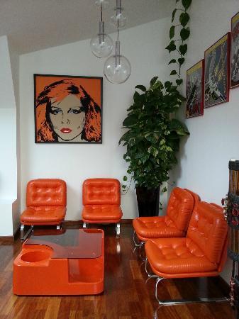 Chambres d'hotes Loft Vintage Lyon: Orange