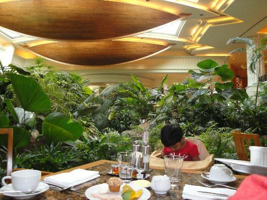 Grand Hyatt Dubai: Market Cafe & Atrium