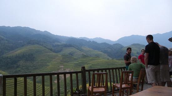 LongJi Terraces Tian ranju Inn: ホテルからの眺め