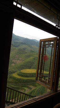 LongJi Terraces Tian ranju Inn: Restaurantから