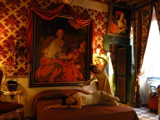 Antica Dimora de Michaelis: ベッドルーム