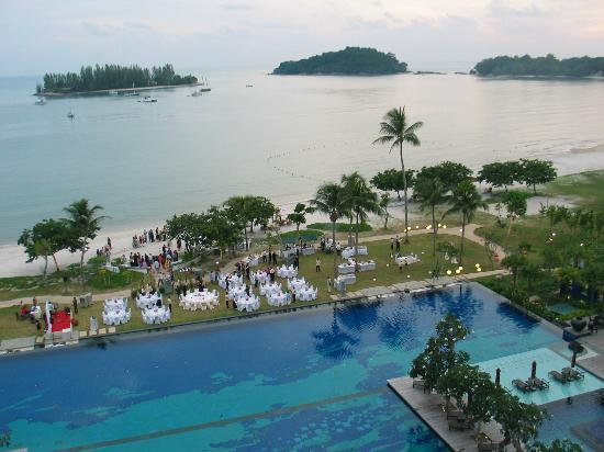 The Danna Langkawi, Malaysia: Dinner for Maybank Group on beach adjacent main pool