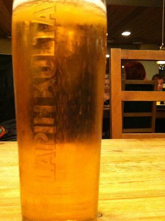 Ravintola Pannu: Local beer !!!