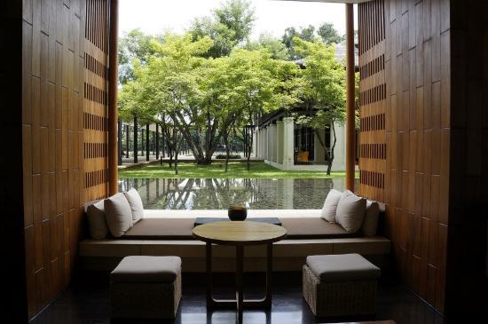 Anantara Chiang Mai Resort: lobby area
