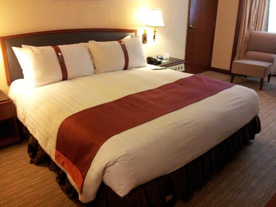 Holiday Inn Macau: 枕は柔らかい・固いをえらべました