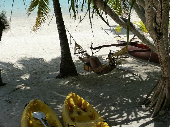 Aitutaki Beach Villas: Lazy afternoon