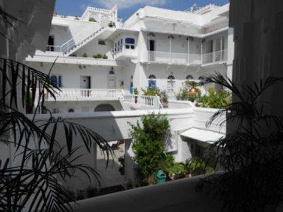 Jagat Niwas Palace Hotel: Une vue de l'hotel