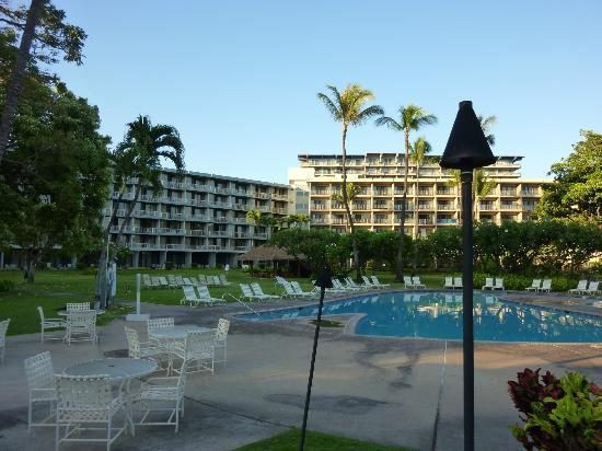 Kaanapali Beach Hotel: view from the pool