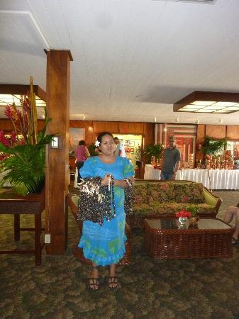 Kaanapali Beach Hotel: Farewell ceremony