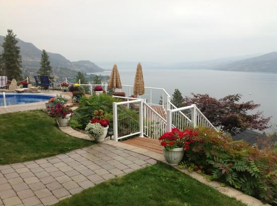 Okanagan Oasis B&B: a fabulous view