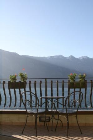 Hotel Monte Baldo: Terrace on 4th floor room