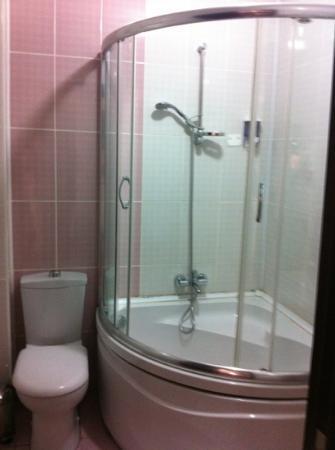 Adrien Hotel: badkamer