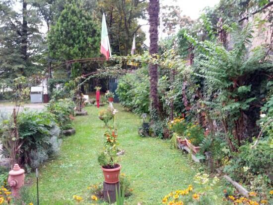Ostello Villa Olmo: the garden