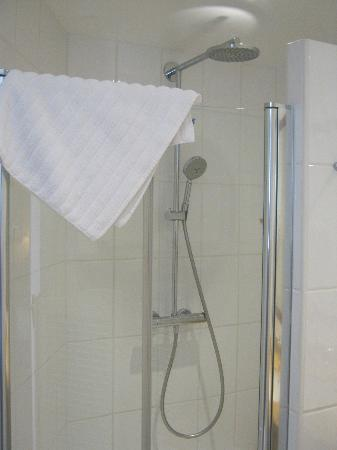 Best Western Plus Hotel Sydney Opera: Glass shower doors, showerhead, hand held shower