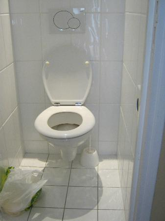 BEST WESTERN Hotel Sydney Opera: Toilet (we put our own garbage bag in there) to throw stuff in.