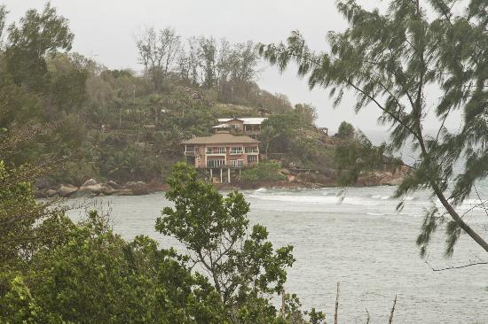 Villa Anse La Blague: Вид из номера